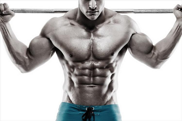 Quadro em vidro Strength and Muscles