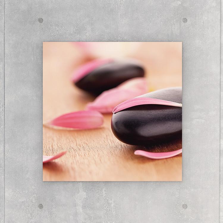 Quadro em vidro Zen - Pink