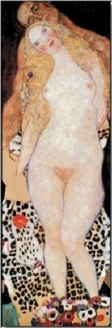 Reprodução do quadro  Adam and Eve