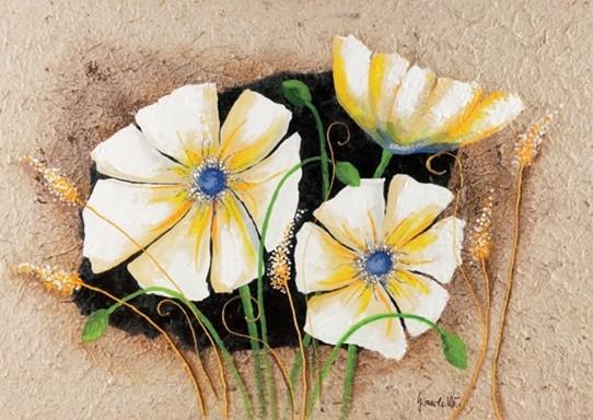 Reprodução do quadro  Anemone in frame