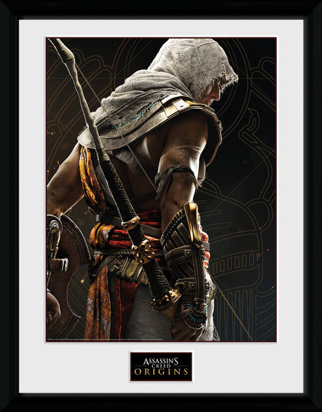Assassins Creed Origins - Synchronization Poster Emoldurado