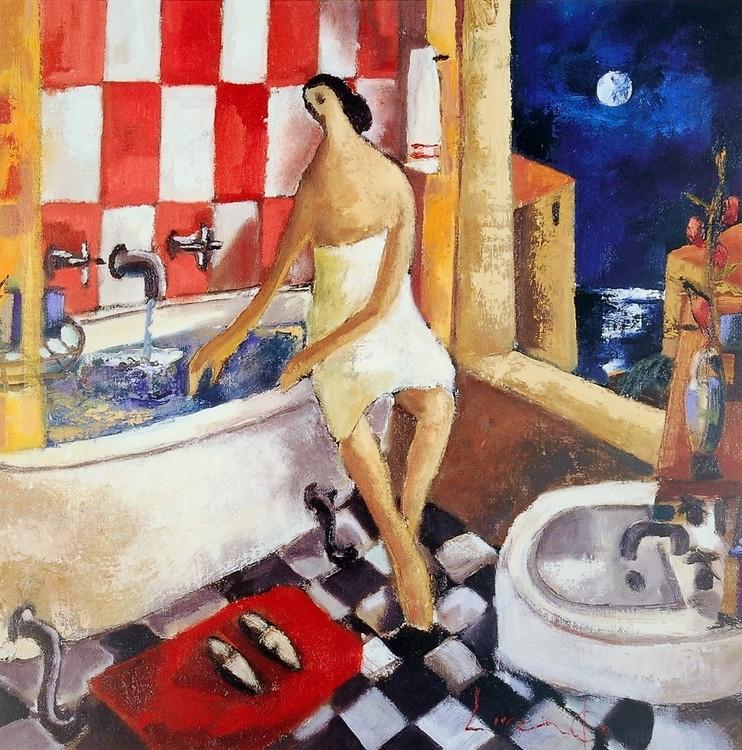Reprodução do quadro Bano Rojo