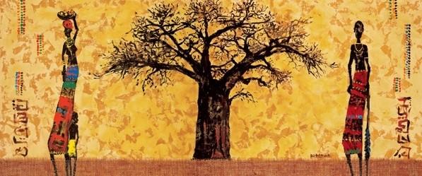 Reprodução do quadro Baobab
