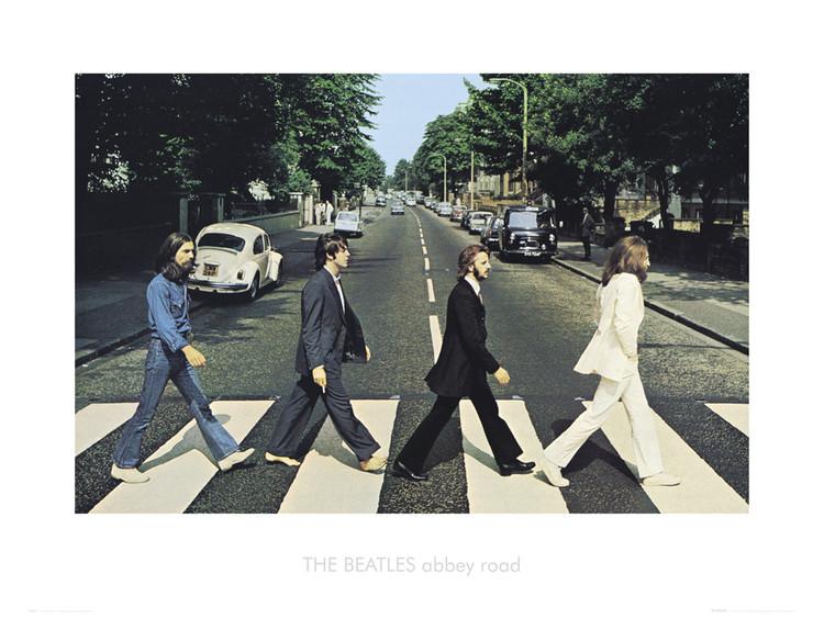 Reprodução do quadro Beatles abbey road