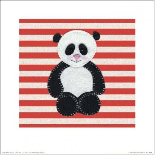 Reprodução do quadro Catherine Colebrook - Panda