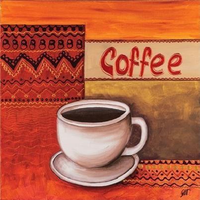 Reprodução do quadro Coffee