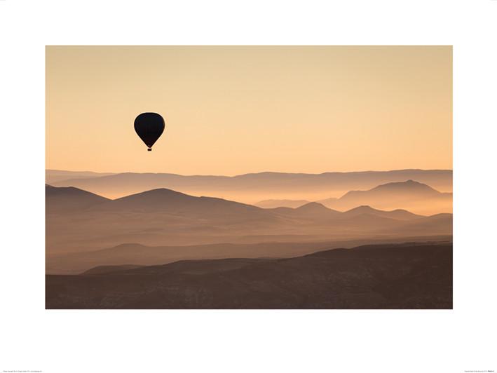 Reprodução do quadro David Clapp - Cappadocia Balloon Ride