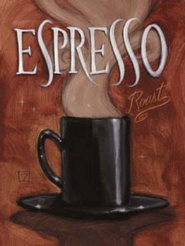 Reprodução do quadro Espresso Roast