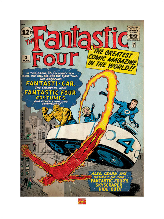 Reprodução do quadro Fantasic Four