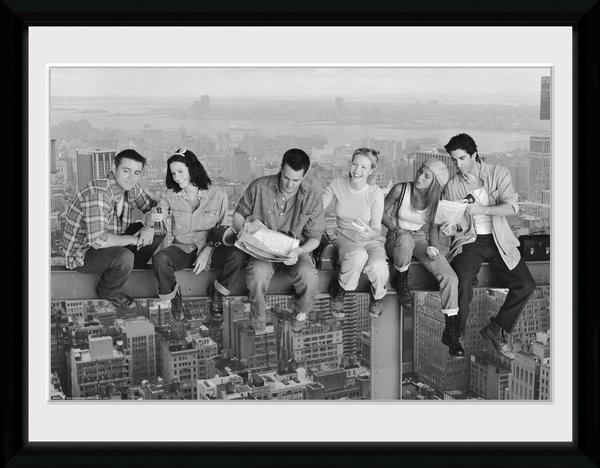 Friends - On Grider Poster Emoldurado