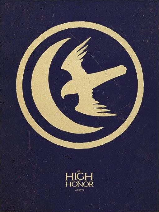 Reprodução do quadro Game of Thrones - Arryn