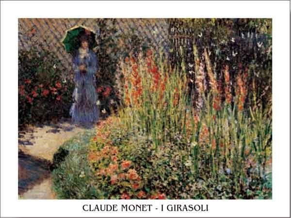 Reprodução do quadro Gladioli