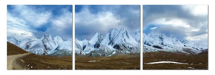 Quadro  Ice mountain