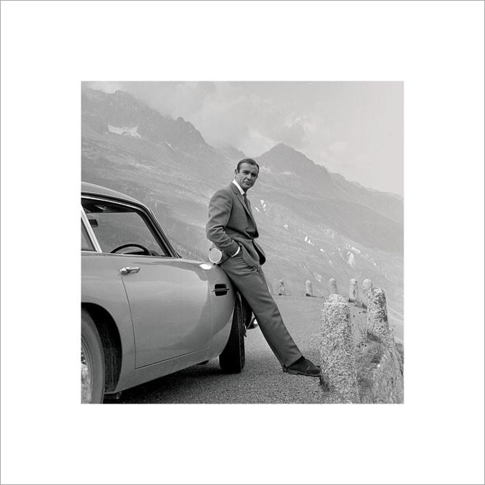 Reprodução do quadro James Bond 007 - Aston Martin