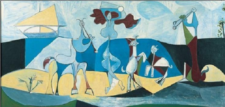 Reprodução do quadro Joy of Life, 1946