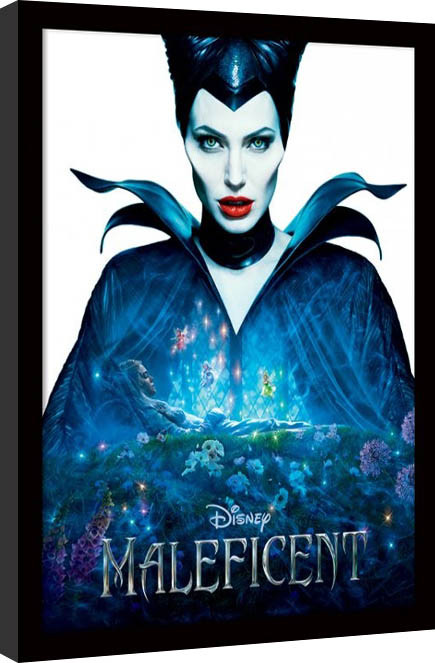 Maleficent - One Sheet Poster Emoldurado