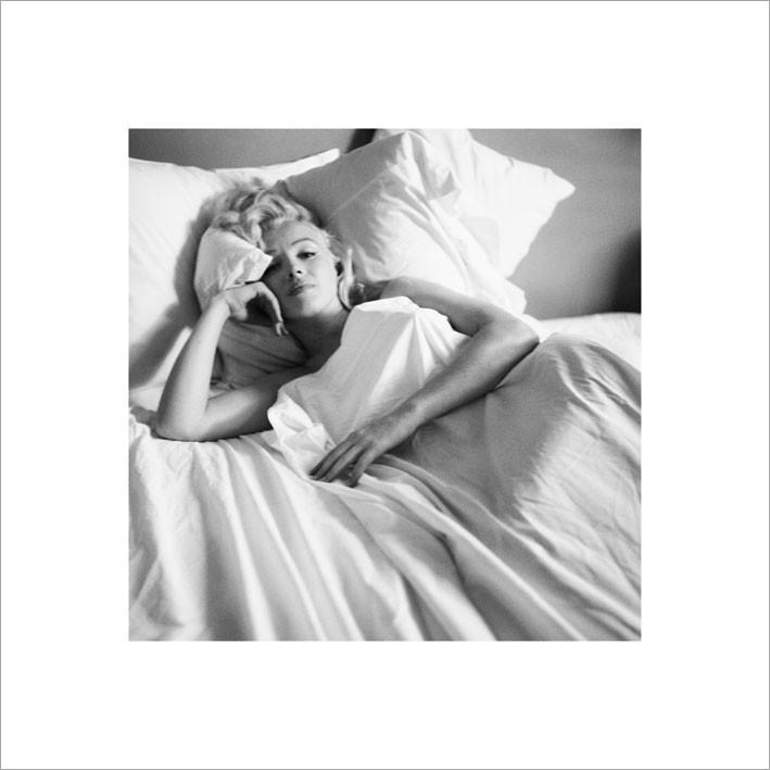 Reprodução do quadro  Marilyn Monroe - Bed