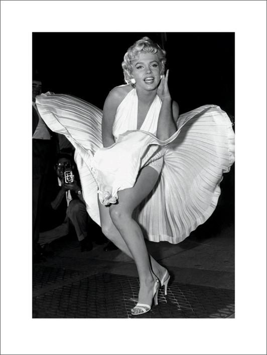 Marilyn Monroe, Reprodução do quadro em Europosters.pt