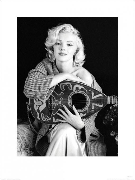 Marilyn Monroe - Lute, Reprodução do quadro em Europosters.pt