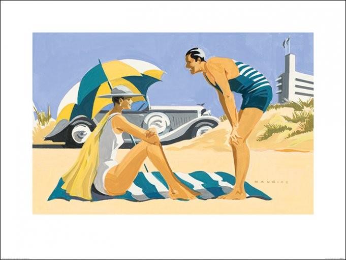 Reprodução do quadro  Mike Maurice - Sand Dunes
