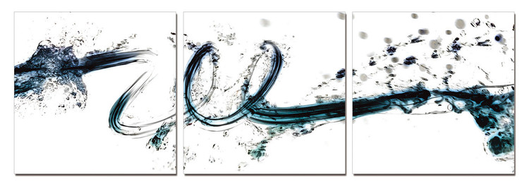 Quadro Modern Design - Colorful Flow
