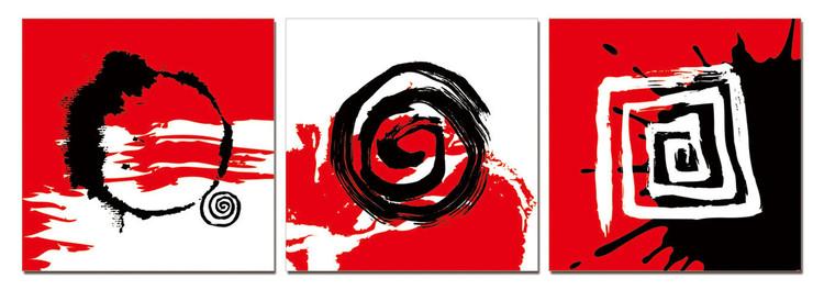 Quadro Modern design - Trilogy