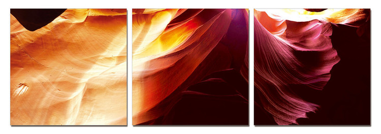 Quadro Modern design - Vibrant abstraction