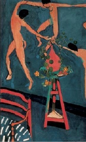 Reprodução do quadro Nasturtiums with The Dance, 1912