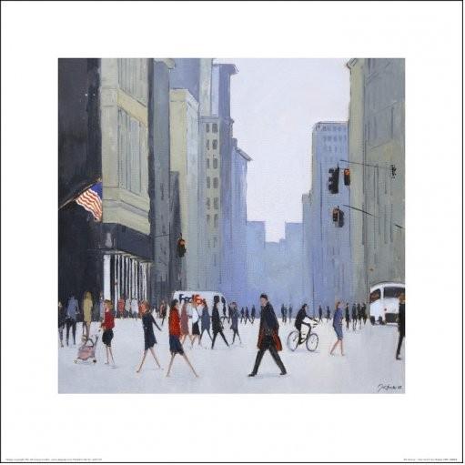 Reprodução do quadro  New York - 5th Avenue