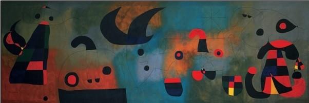 Reprodução do quadro Peinture murale