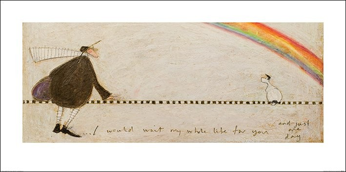 Reprodução do quadro  Sam Toft - I Would Wait My Whole Life For You
