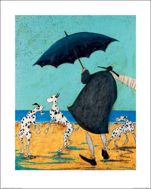 Reprodução do quadro Sam Toft - On Jack's Beach