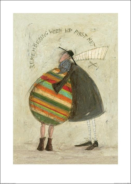 Reprodução do quadro Sam Toft - Remembering When We First Met