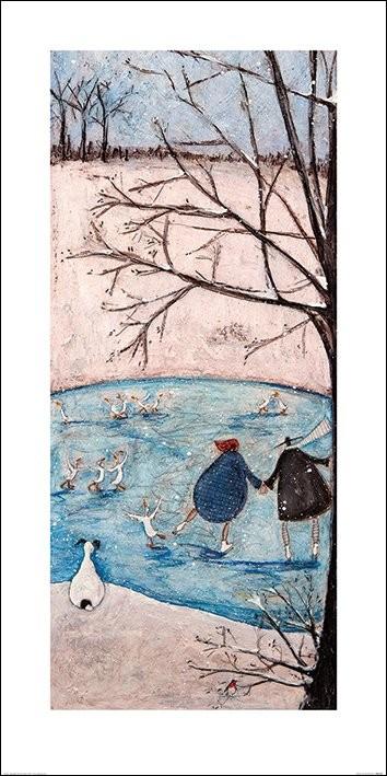 Reprodução do quadro Sam Toft - Winter