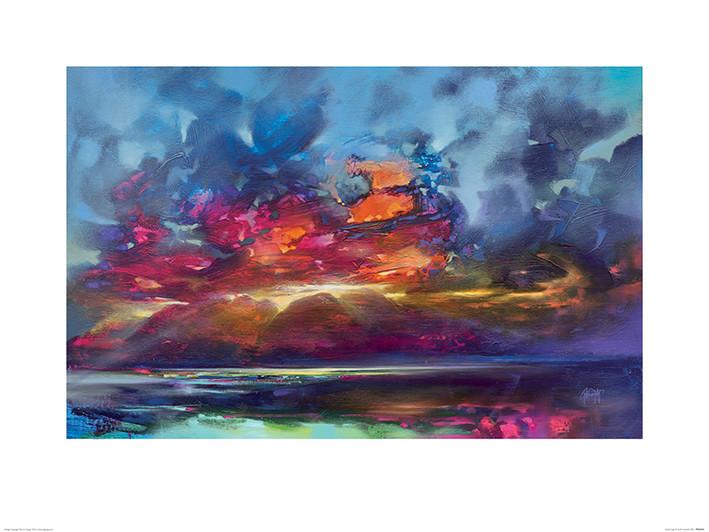 Reprodução do quadro  Scott Naismith - Island Light