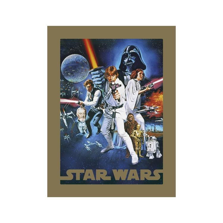 Reprodução do quadro  Star Wars - A New Hope
