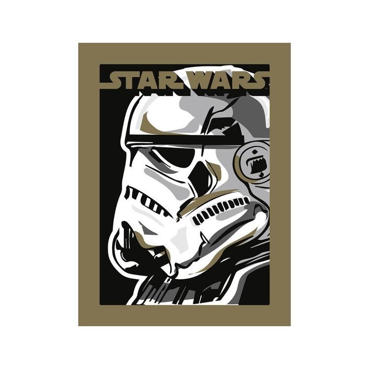 Reprodução do quadro  Star Wars - Stormtrooper