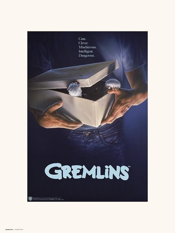 Reprodução do quadro The Gremlins - Originals