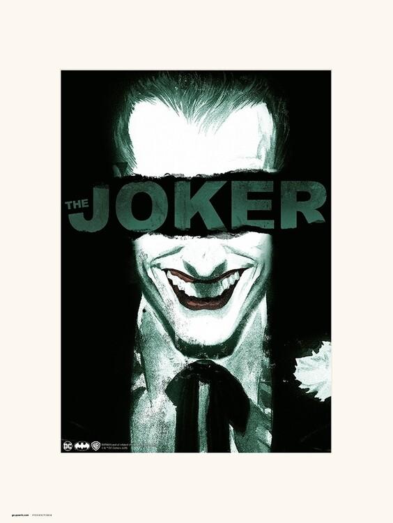 Reprodução do quadro The Joker - Smile