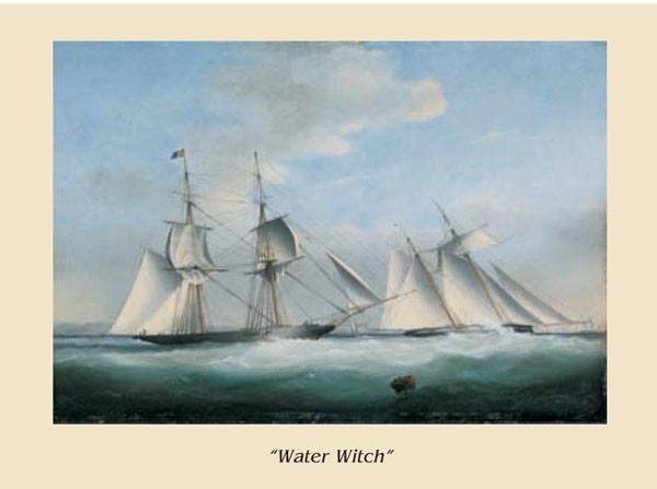 Reprodução do quadro The Ship Water Witch