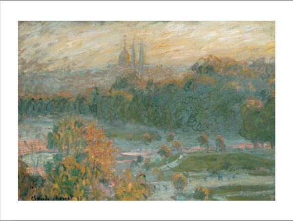 Reprodução do quadro The Tuileries (study), 1875