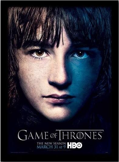 Poster Emoldurado GAME OF THRONES 3 - bran
