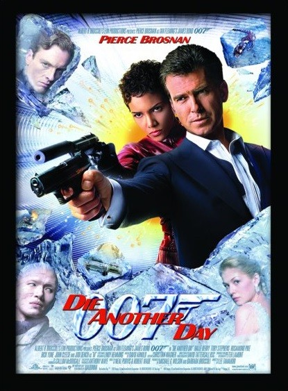 Poster Emoldurado JAMES BOND 007 - Die Another Day