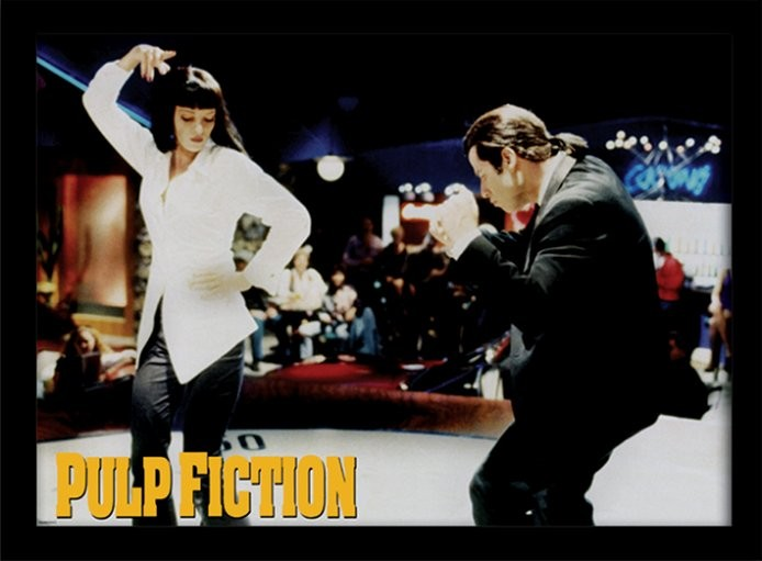 Poster Emoldurado PULP FICTION - dance