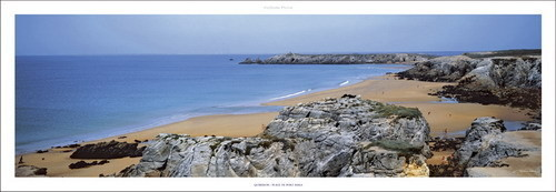 Quiberon - Plage de port-Bara Reproduction d'art