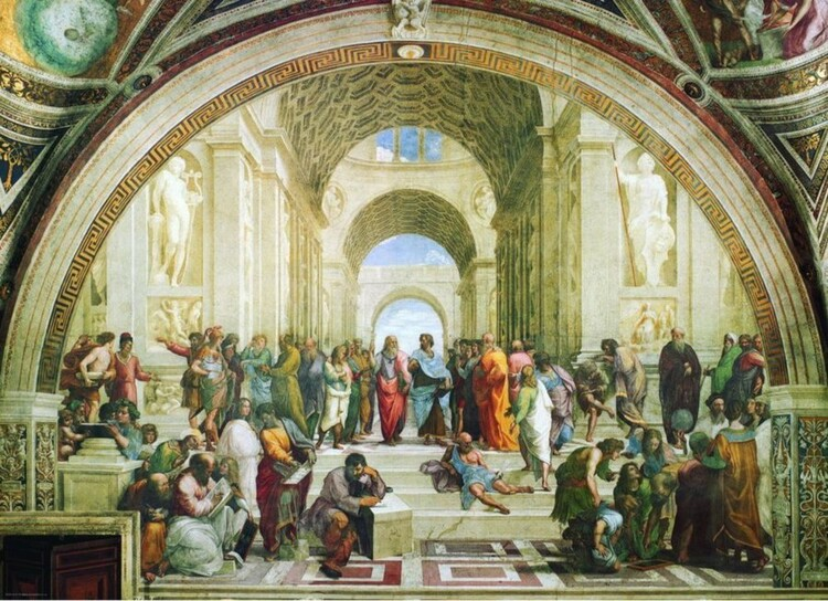Puzzle Raffaello Sanzio, Raphael - School of Athens