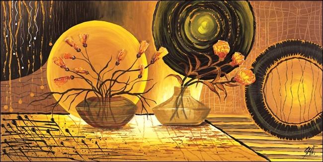 Raggio dorato Reproduction d'art