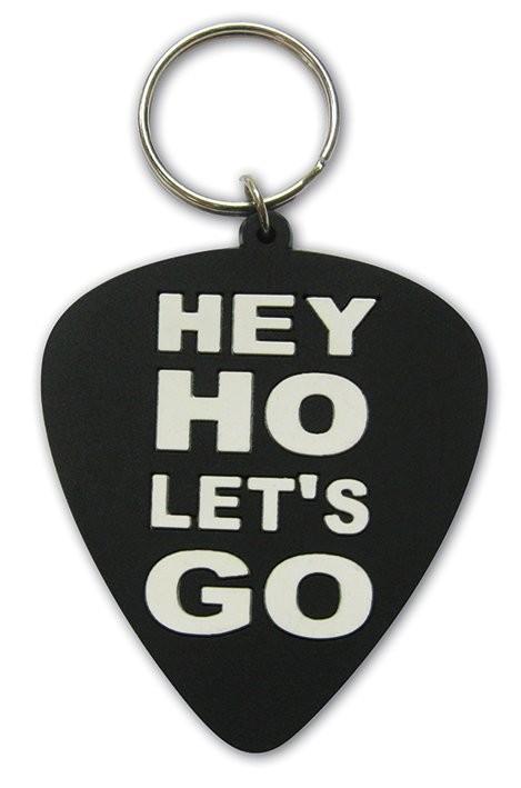 Ramones - Hey Ho, Let's Go (Plectrum) Porte-clés