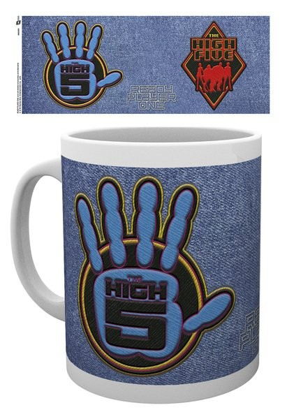 Cup Ready Player One - The High Five Logo