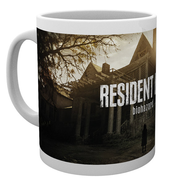 Cup Resident Evil - Re 7 Key Art